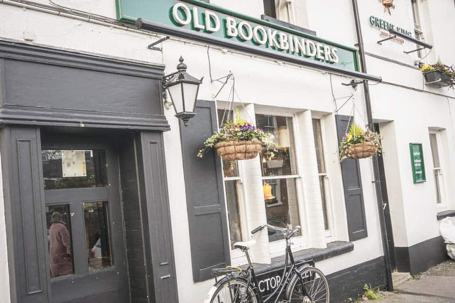 The Old Bookbinder's Ale House Oxford