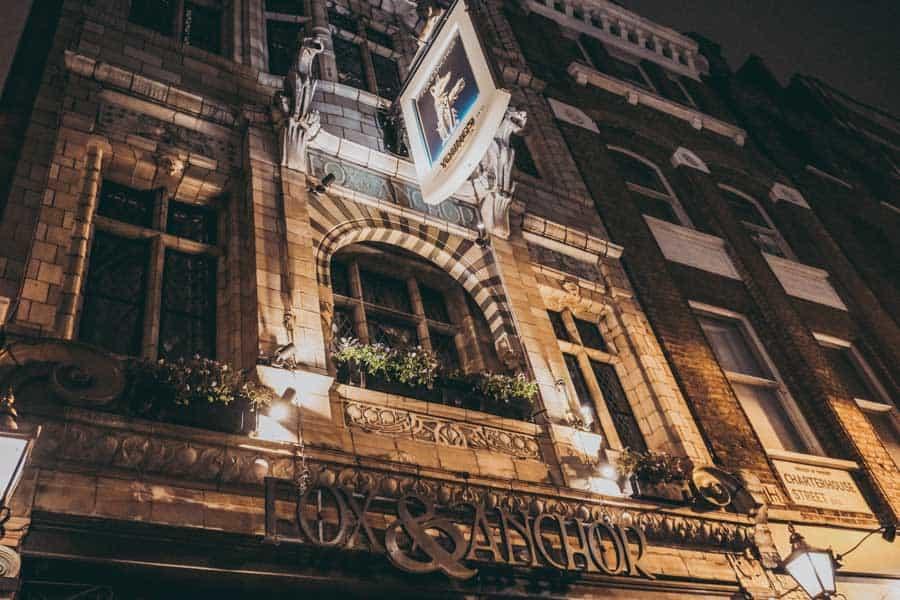 The Fox and Anchor Pub Farringdon