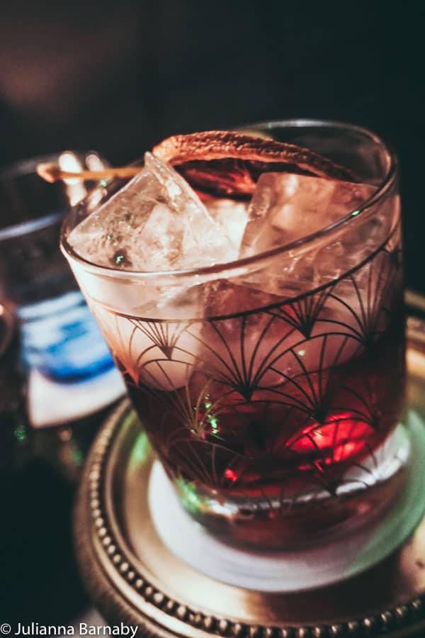 Cocktail at Disrepute Soho