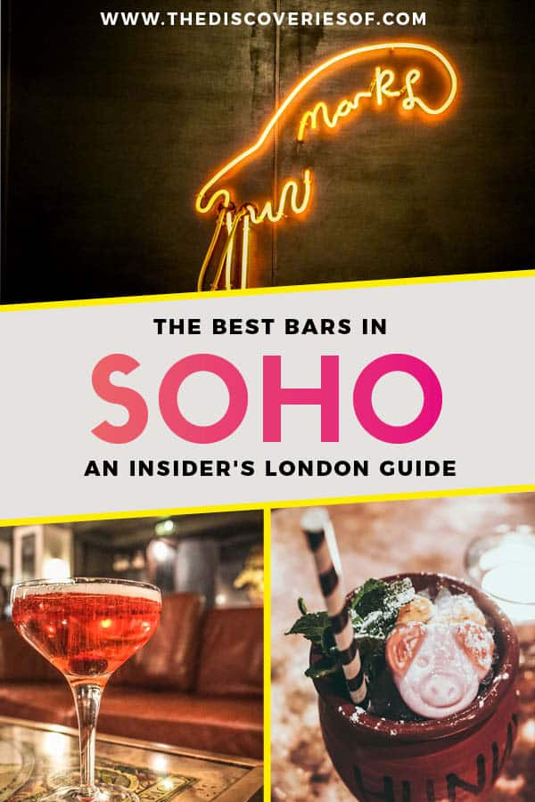 Soho London Bars