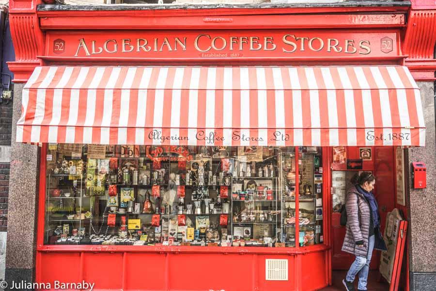 Algerian Coffee Stores Soho