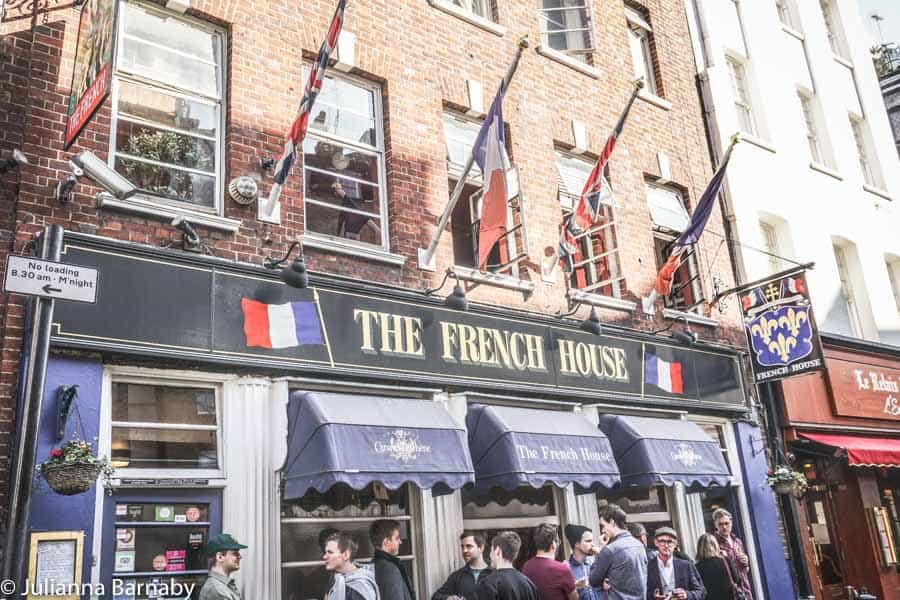 Soho Pubs - The French House