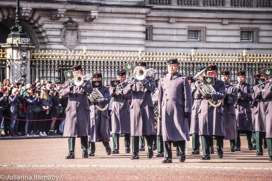Changing of the Guard - Band