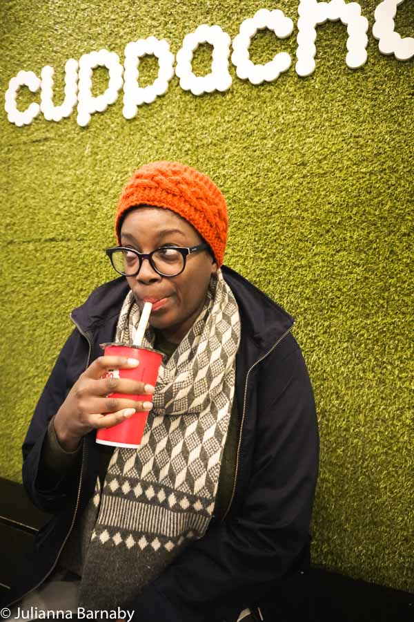 Trying Bubble Tea at Cuppacha London
