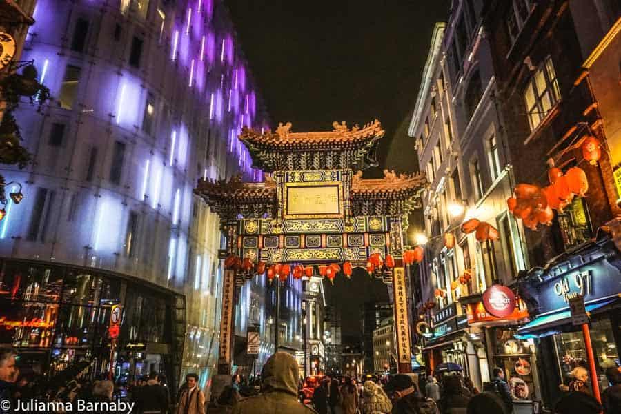 Chinatown at Night