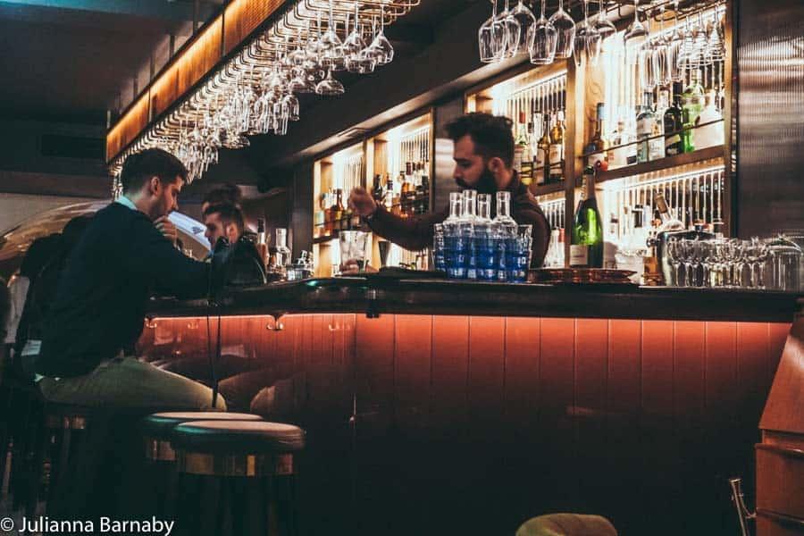 Bar at Disrepute Soho