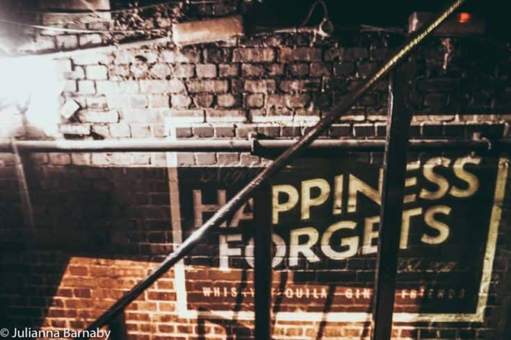 Happiness Forgets: The Characterful Underground Drinking Den on Hoxton Square