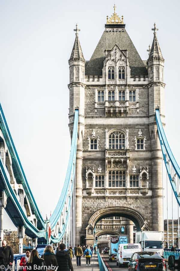 Tower Bridge - view from on the bridge