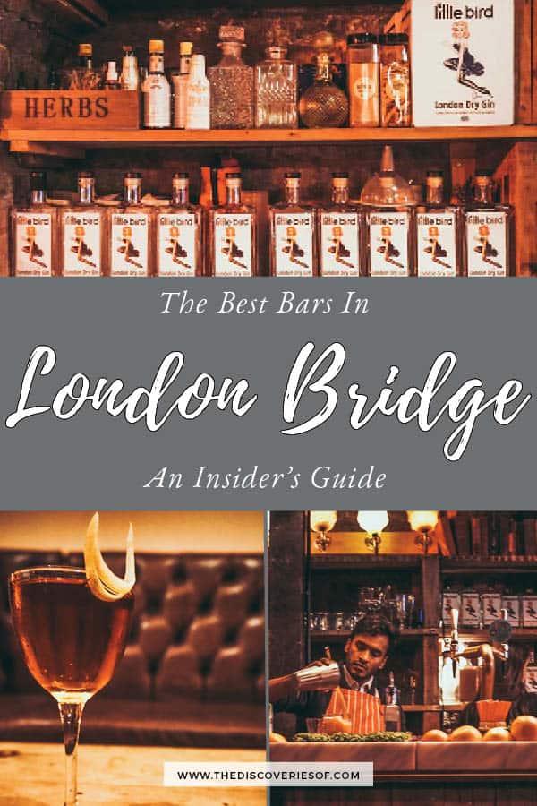 Best bars in London Bridge