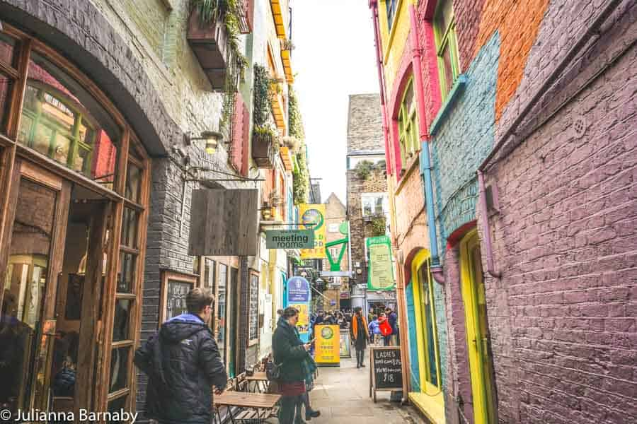 The Passageway into Neal's Yard