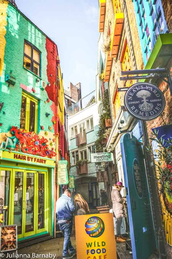 The colours of Neal's Yard