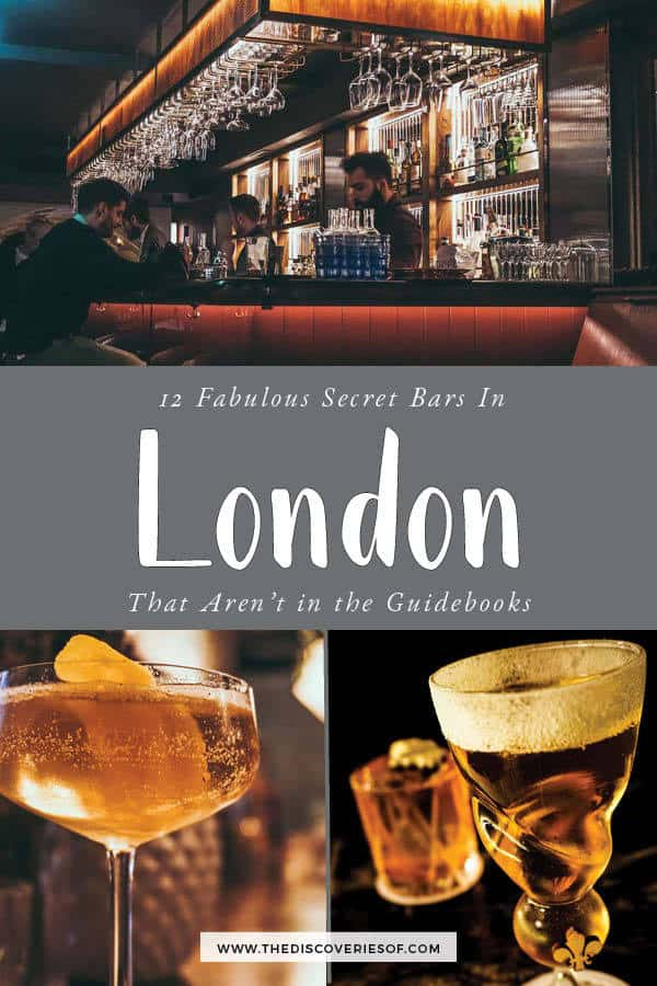 London Secret Bars