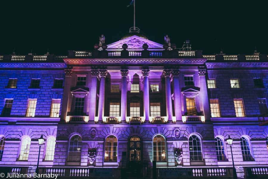 Somerset House at Night