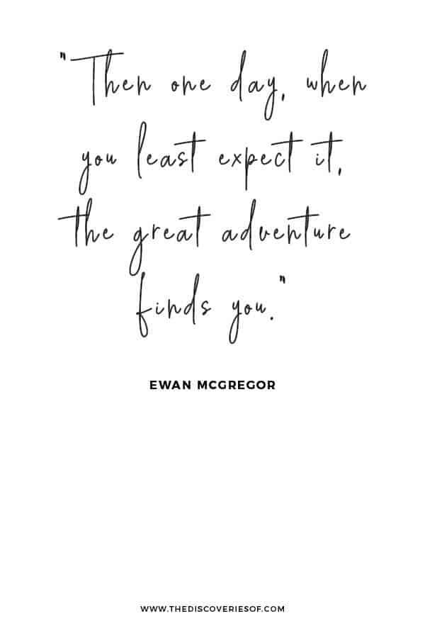 Great Adventure Quote