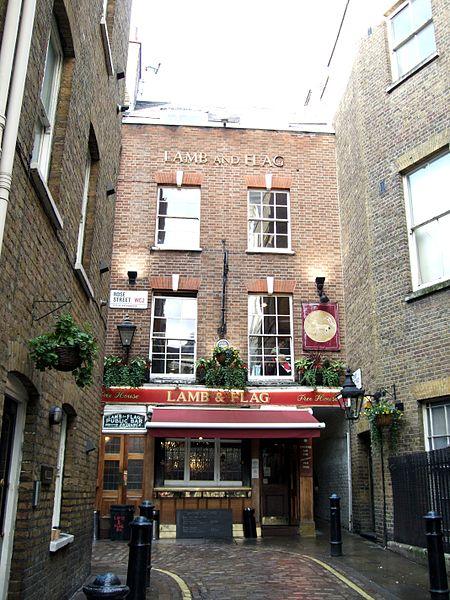 Lamb & Flag Covent Garden