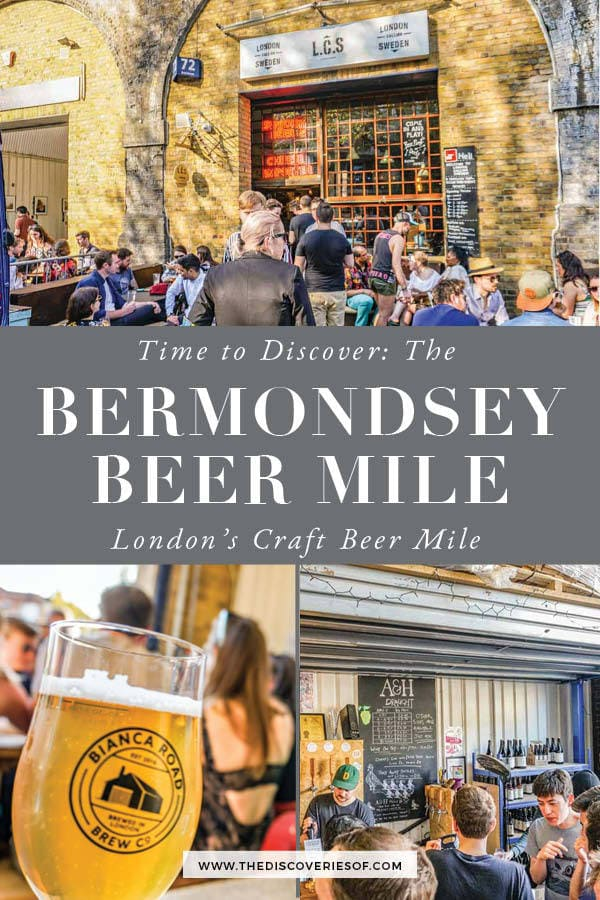 The Bermondsey beer Mile