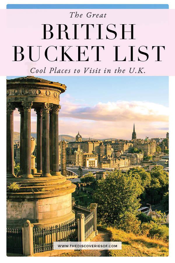 British Bucket List