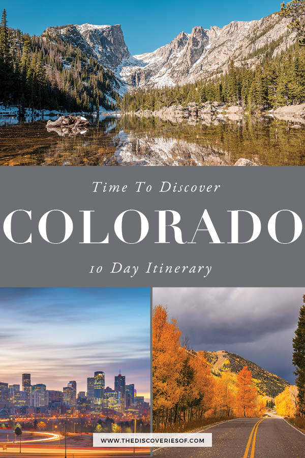 Colorado Itinerary