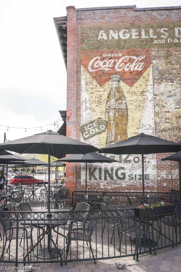 Ghost Coca Cola Sign