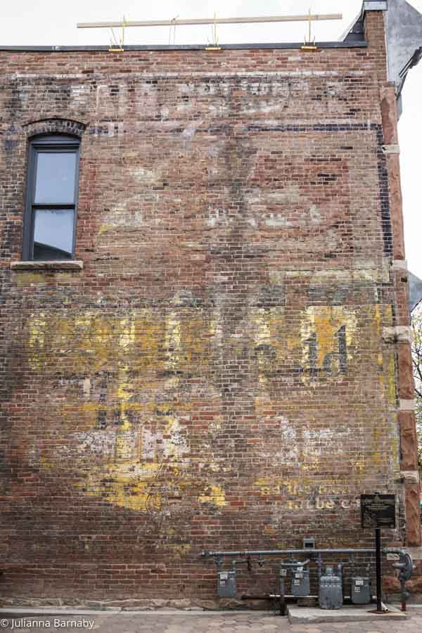 Ghost Sign Fort Collins