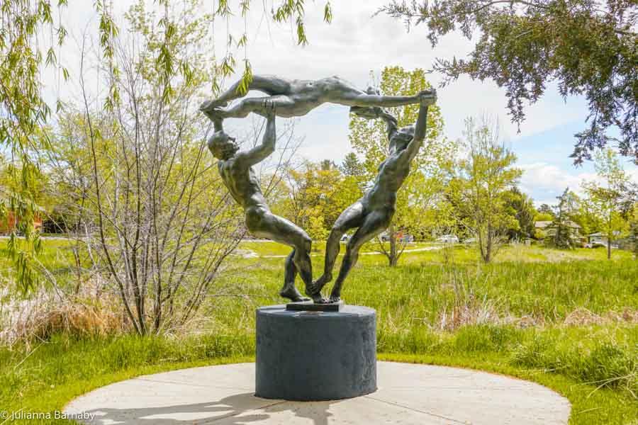 Menage a Trois Benson Sculpture Garden