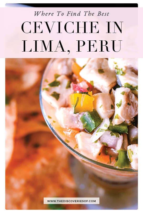 Lima: Ceviche Guide