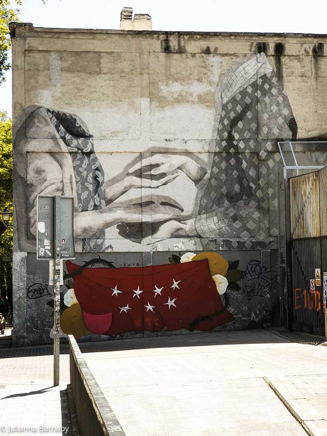 More Street Art in Madrid