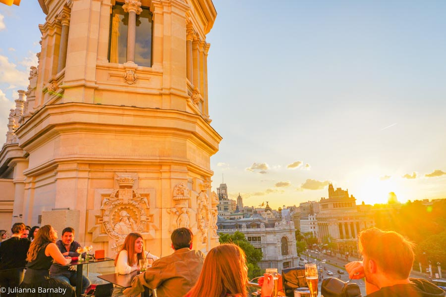 8 Brilliant Rooftop Bars In Madrid The Discoveries Of