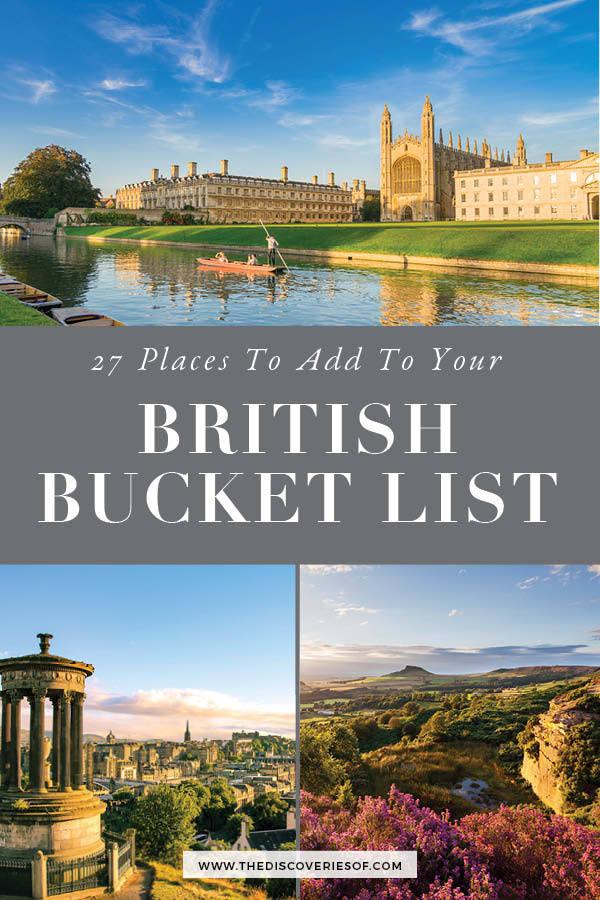 UK Bucket List