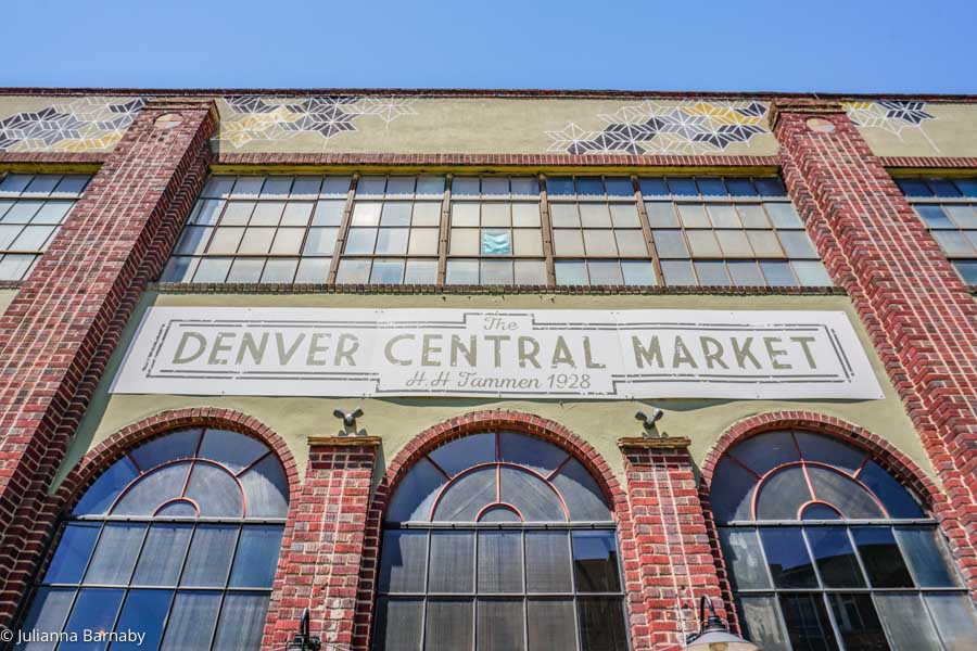 Denver Central Market in RiNo