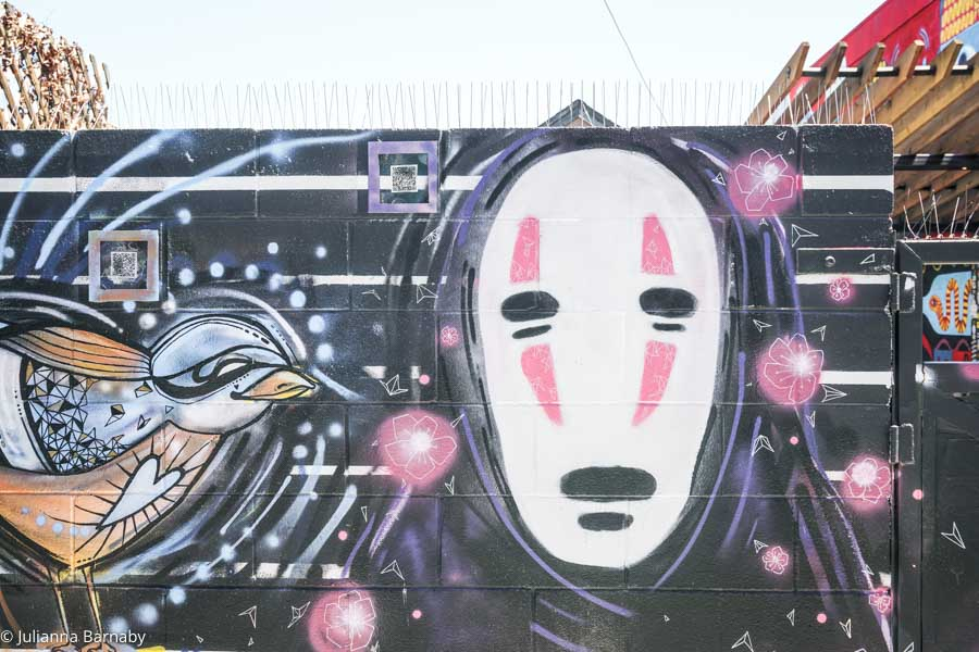 Spirited away street art