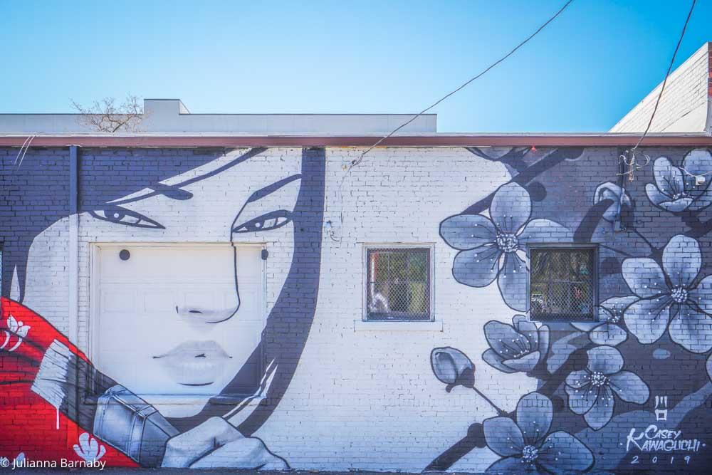 The Watching Woman by Casey Kawaguchi