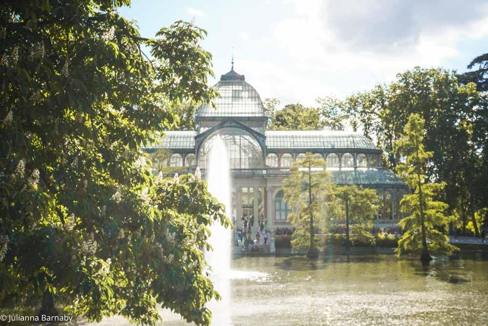 Palacio Cristal in Retiro Park