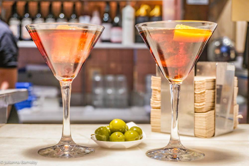 Vermouth at the Vermouth Bar San Miguel