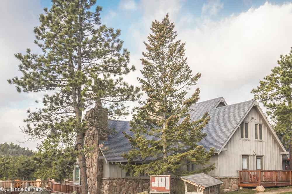 Main building at Sundance Trail Ranch