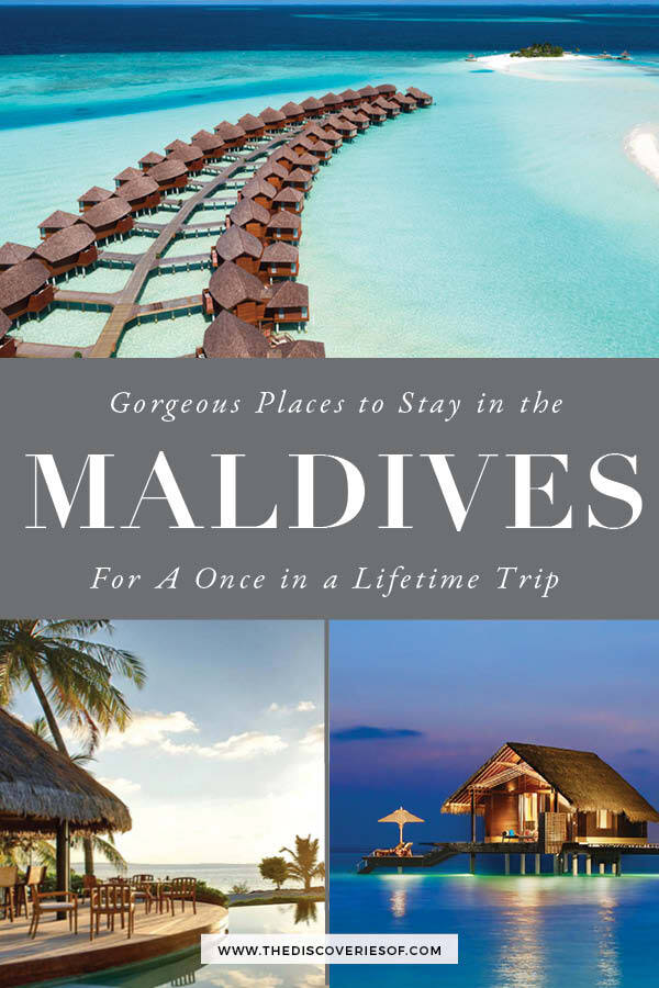 Places to Stay in the Maldives
