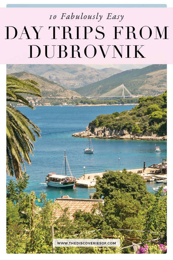 day tours from Dubrovnik