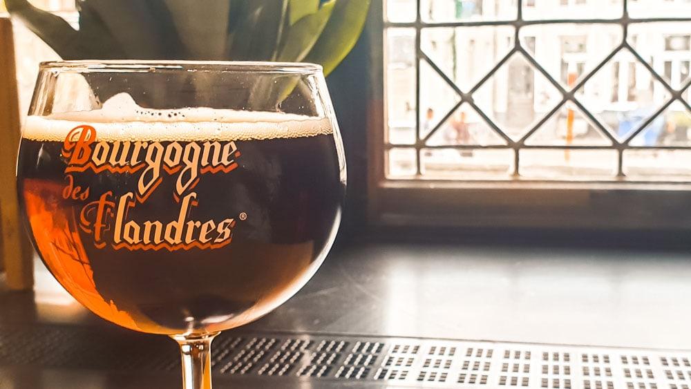 Bourgogne des Flandres - one of Bruges' breweries