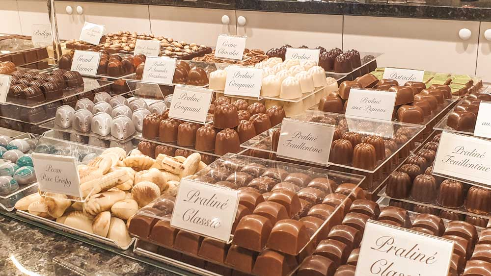 Belgian Chocolate at Olivier's