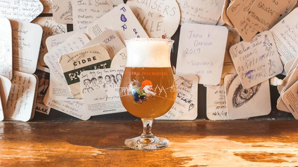 Beer at 't Brugs Beertje