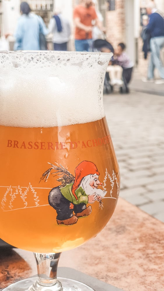 This is a tripel beer