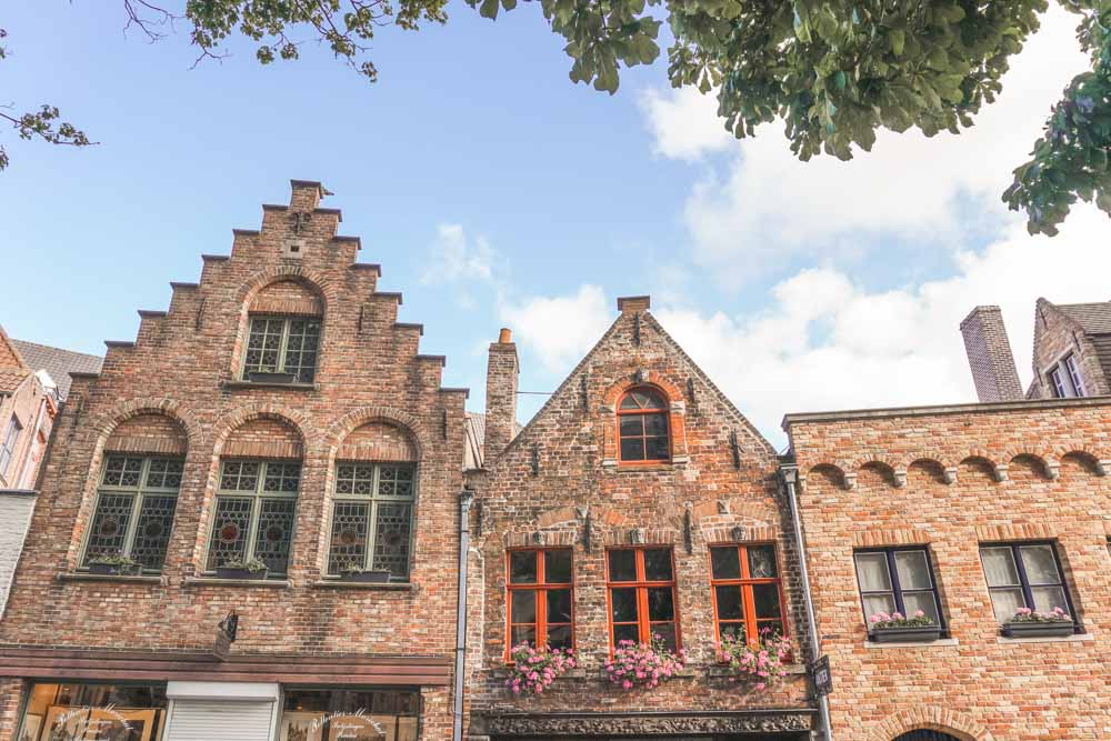 Old Houses in Bruges