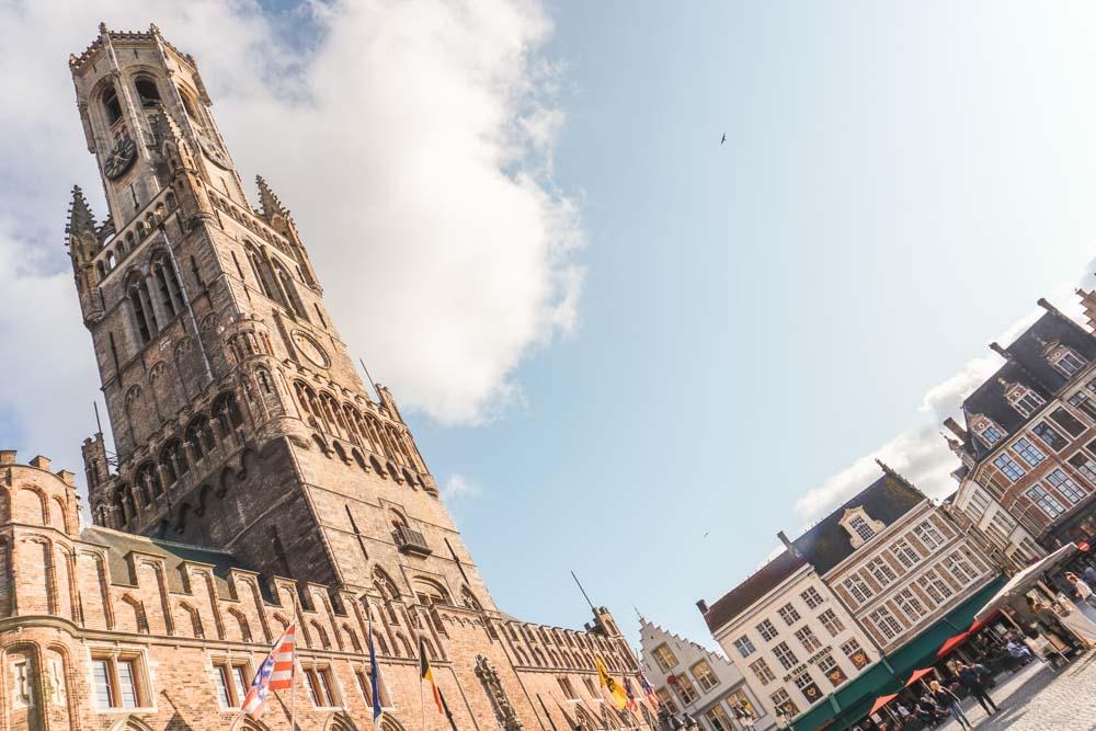 Markt + Belfort Bruges
