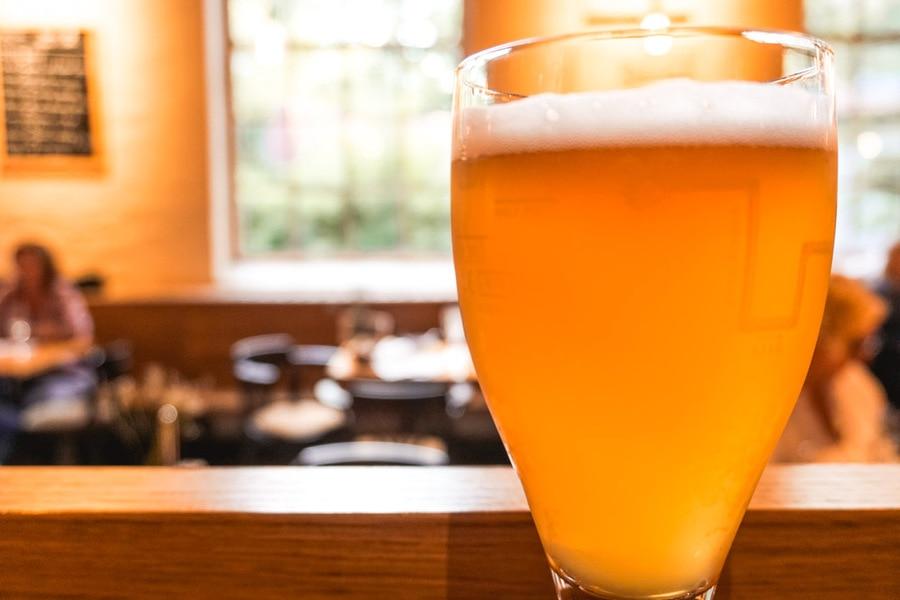 Tripel beer in Bruges