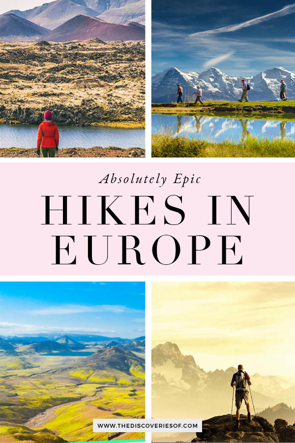 Hikes in Europe