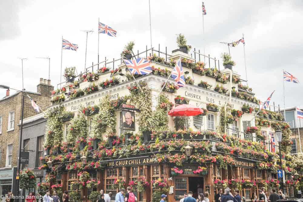 Things to do in Kensington - Churchill Arms