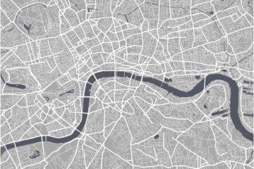 London Landmarks Map