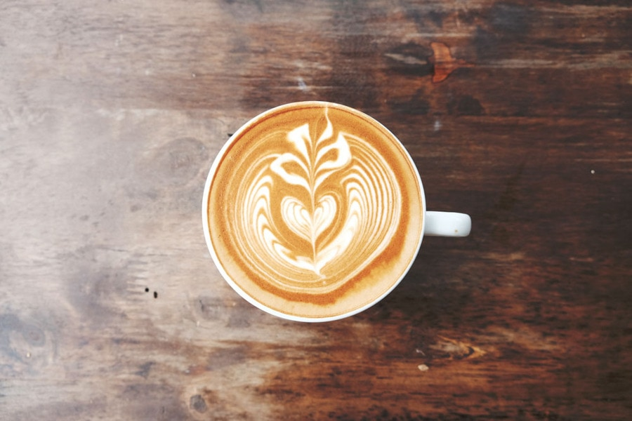 Freshly made coffee