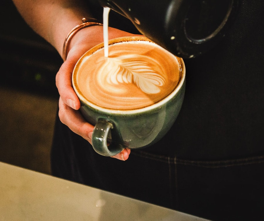 Notting Hill Cafe - Pouring Flat white