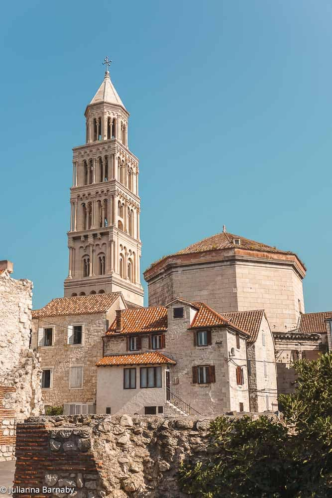 Views of Split's Old Town